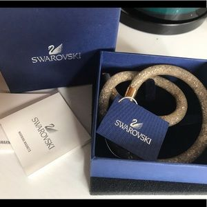 Swarovski Gold deluxe double bracelet